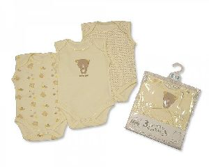 Baby Sleeveless Bodysuits