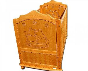 1444 Wooden Baby Cot