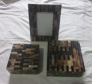 Bone Photo Frame And Box Set 01