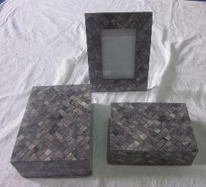 Bone Photo Frame And Box Set 02