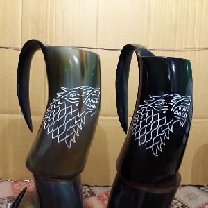 Tankard Horn Mug 01