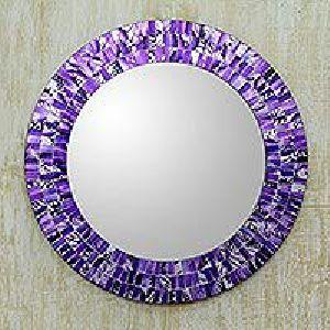 Round Mosaic Mirror 01