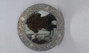 Round Mosaic Mirror 02