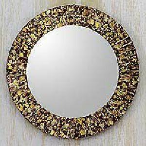 Round Mosaic Mirror 03