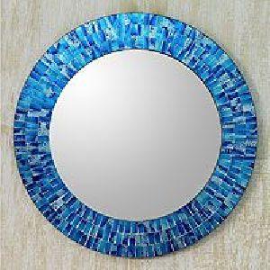 Round Mosaic Mirror 04