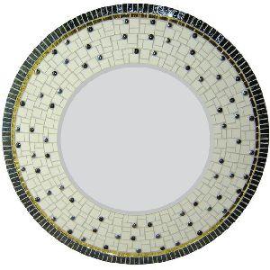 Round Mosaic Mirror 05