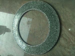 Round Mosaic Mirror 06