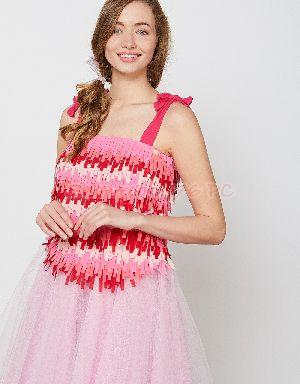 Angelique Fringed Top