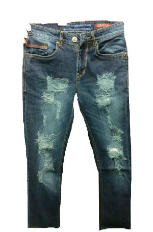Gucci Rough Jeans