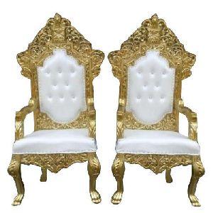 Golden Wedding Chair