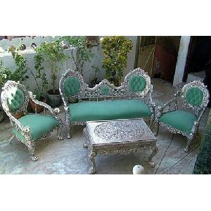 Metal Plating Sofa Set