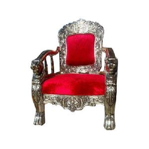 Silver Wedding Chair