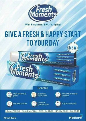 FRESH MOMENTS TOOTH PASTE