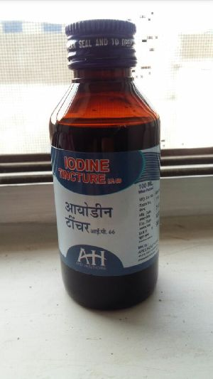 Iodine Tincture Solution (100 ml Bottle)