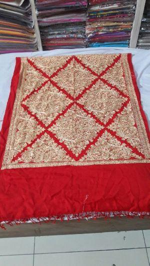 Aari Embroidered Stole 03