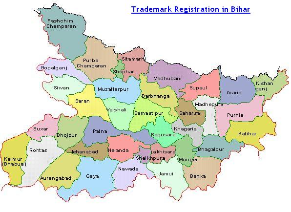 Trademark Registration in Bihar Patna Gaya Bhagalpur Jahanabad Darbhanga
