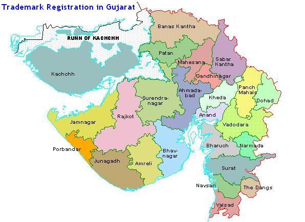 Trademark Registration in Gujarat Gandhinagar, Ahmadabad, Vadodara (Baroda) Surat, Rajkot, Bhavnagar