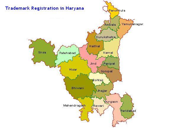 Trademark Registration in Haryana Chandigarh, Gurgaon , Faridabad, Panipat