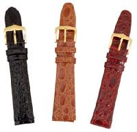 Padded Unstitched Leather Watch Straps