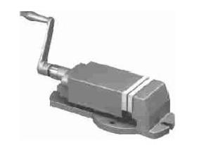 Milling Machine Vice Without Swivel Base