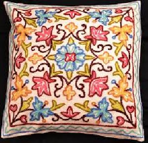 Crewel Cushion Covers