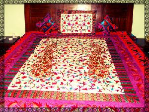 Kashmiri Bed Sheets 04
