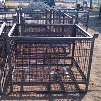 MS Fabricated Material Trolley