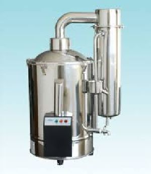 Stainless Steel Water Distiller 01