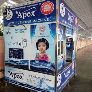 Purified Water Vending Machine (WVM250LPH)