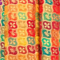 Chanderi Brocade Fabric (04)