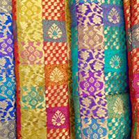Chanderi Brocade Fabric (05)