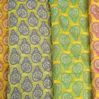 Chanderi Brocade Fabric (06)