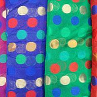 Chanderi Brocade Fabric (07)