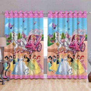 Disney Princess Print Curtains