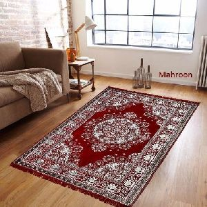 Maroon Chenille Rugs