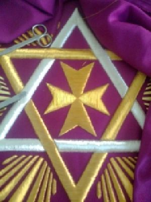 SLE-2719 Knight Templar Alm Bag Fabric