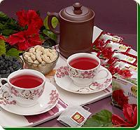 Hibiscus Sabdariffa Flower Tea
