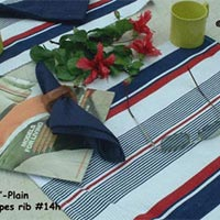 Table Linen : Stripe Ribbed 14H