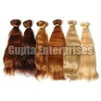 Machine Blonds Weft Hair