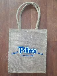 JUTE BAG WITH HEAT TRANSFER