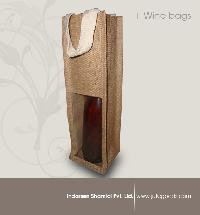 wine bottle bag with pvc