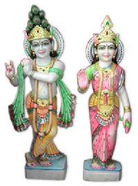 Fine Marble Radha Krishna Ji