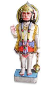 Marble Standing Hanuman Ji