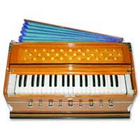 Teak Wood Harmonium