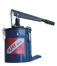 Ajay Bucket Grease Pump With Trolly
