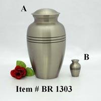 Brass Cremation Urns (BR 1303)