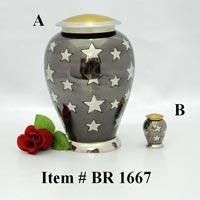 Brass Cremation Urns (BR 1667)