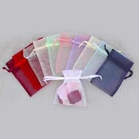 Color Organza Drawstring Pouches