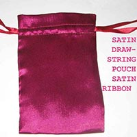 Satin Drawstring Pouches