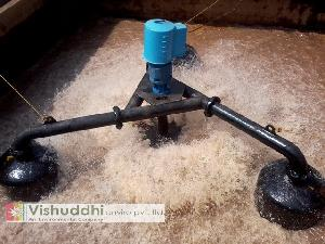Floating Slow speed Aerator